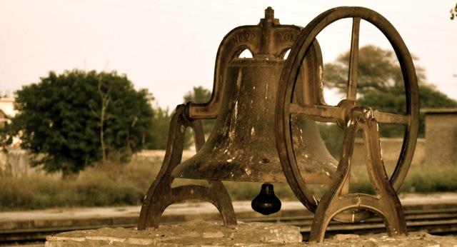 Cast Iron Bell, Golra Railway Station