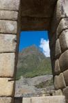 View of Mt. Machu Picchu