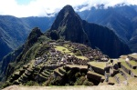 View with Huyana Picchu in the background