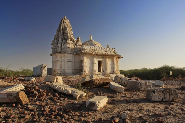 Jain Temple in Nagarparkar/Parinagar (?), Sindh, Pakistan | Photo by Salman-Rashid | Click image for larger view.