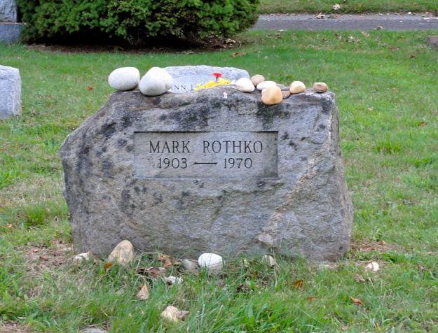 Rothko's Gravestone